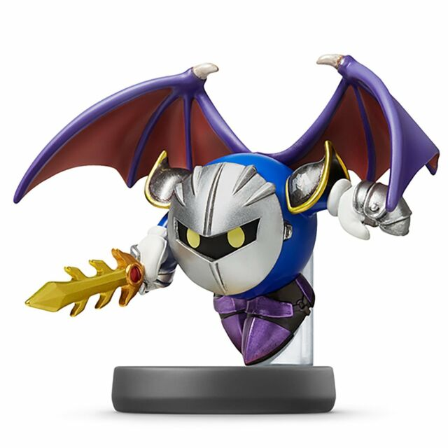 NEW Nintendo 3DS Wii U amiibo Meta Knight Super Smash Brothers Japan Import F/S
