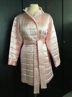 Bnwot Cocoon Luxury Silk Padded Pale Pink Dressing Gown/loungewear Size Medium