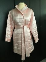 Bnwot Cocoon Luxury Silk Padded Pale Pink Dressing Gown/loungewear Size Medium