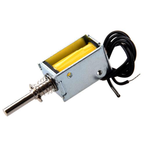 5X DC 4.5V 40g//2mm Open Frame Actuator Push Pull Solenoid Electromagnet BL