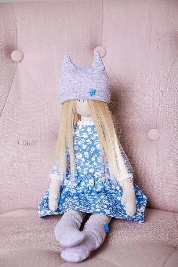 Handmade Doll Decoration Tilda doll doll doll Textile doll Rag doll Cloth dolls  Soft doll 7ba765