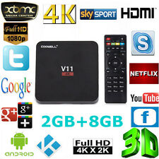 V11 TV Box RK3229 Android 5.1 2G+8G Quad Core 4k Full HD Media Player Kodi