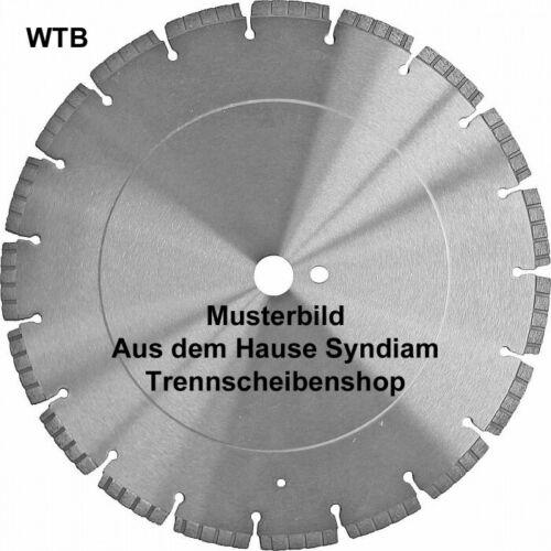 Natur-Kunststein Diamanttrennscheibe Ø 350x25 mm Einsatz Beton armiert Ziegel
