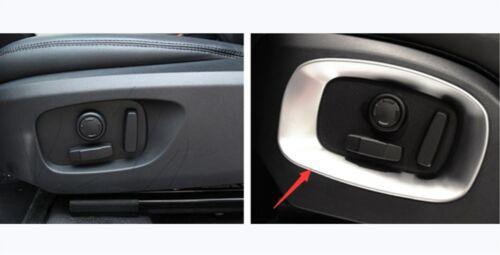 Car Seat Handle Decoration Panel Frame Trim For Range Rover Evoque 2012-2019