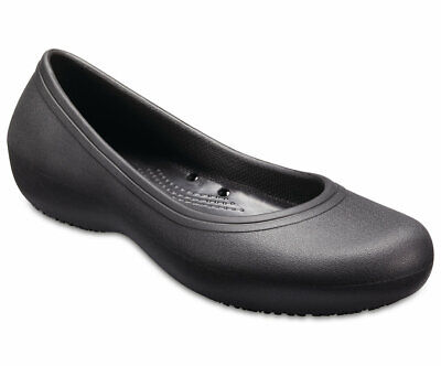 Crocs Women/'s Alice Mary Jane Flat,Black Non Slip 11050 20T2