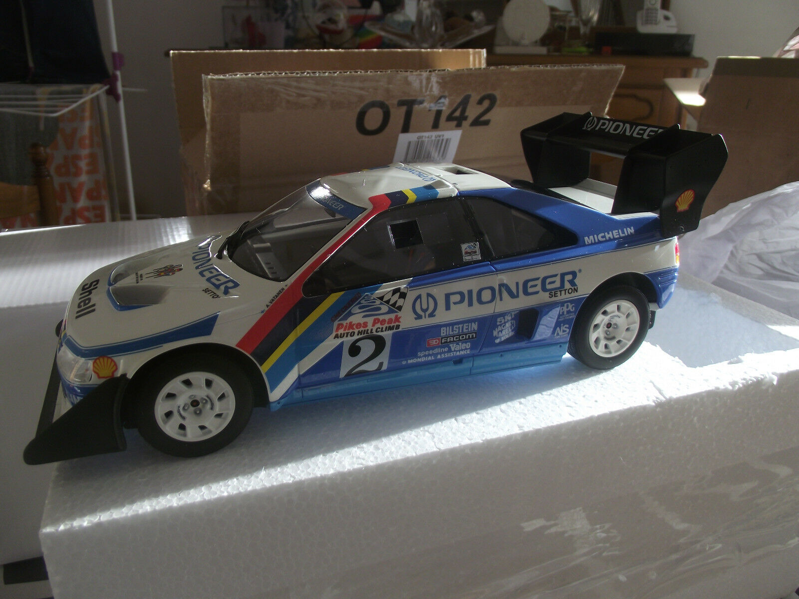 Peugeot 405 pikes pikes pikes peak vatanen    pikes peak 1988 1/18  OTTO142 | Up-to-date Styling  54b1bb