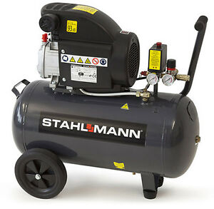 stahlmann druckluft kompressor 50 liter 50l 50 liter 50l. Black Bedroom Furniture Sets. Home Design Ideas