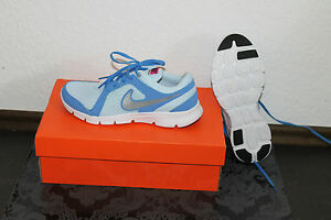 separation shoes 2bf33 71e47 ... NIKE-FLEX-RUNNING-pour-Femmes-Chaussures-bleues-taille-