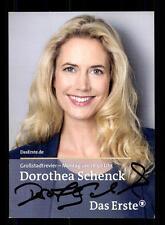 Dorothea Schenk ARD Autogrammkarte Original Signiert # BC 86049