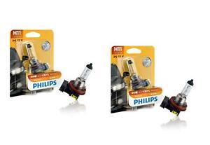 2x-Philips-Halogen-H11-Lampe-12V-55W-Vision-bis-30-mehr-Licht-12362PRB1