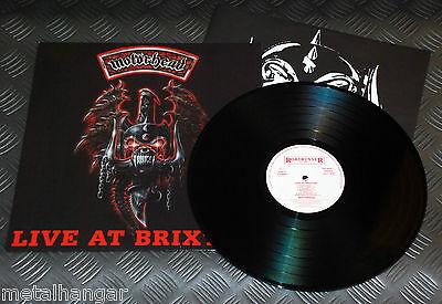 Motorhead 'Live At Brixton' 1st Press Dutch '94 Original LP V.Rare OOP Top Copy!