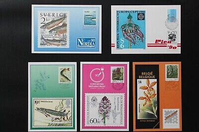 1990 Aland Ausstellungskarten/exhibition Cards