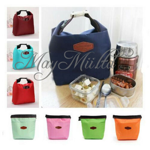 Thermal Insulated Cooler Waterproof Lunch Tote Carry Storage Picnic Pouch Bag Z