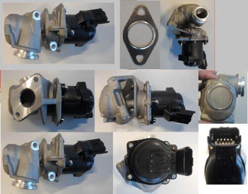 EGR Válvula de Recirculación Gases Escape con el Sello Peugeot Citroen 1,4 Hdi