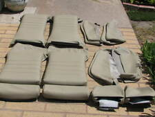 BMW E24 635CSI SPORT SEAT KIT PEARL BEIGE 100% LEATHER UPHOLSTERY KITS BEAUTIFUL