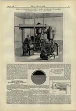 1883 motor de bombeo de alta presión de condensación Pulsómetro
