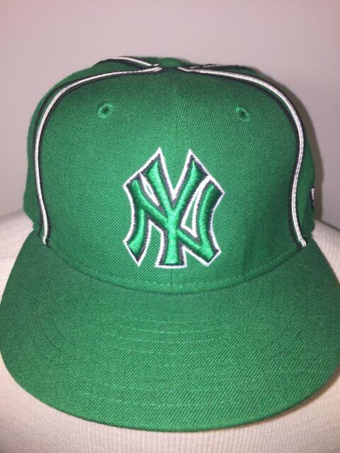 bc96f886cf6 NEW ERA 59FIFTY Snapback Hat. NEW YORK YANKEES. MLB Green cap. Size ...
