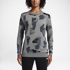 item 1 Women's Nike Sportswear Modern Crew 803614 091 SIZE XL Carbon  Heather Dark Grey -Women's Nike Sportswear Modern Crew 803614 091 SIZE XL  Carbon ...