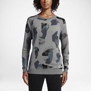 d51de05e76aa Women s Nike Sportswear Modern Crew 803614 091 SIZE XL Carbon ...