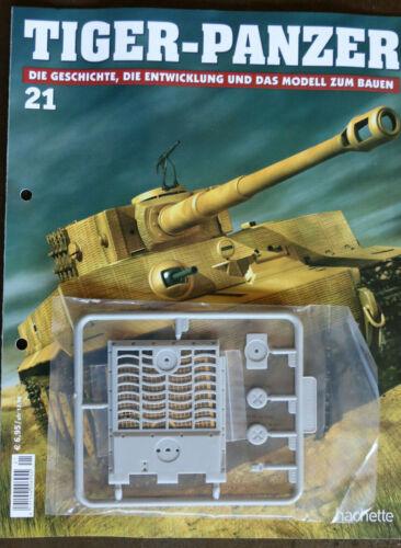 Tiger Panzer//Modellbau//Hachette//Nr.21 //OVP//Kein Spielzeug!//Maßstab 1:16//K ab 10+