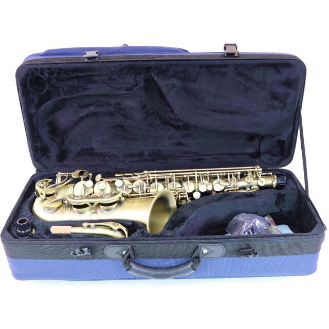 Gold Lacquer Finish Buffet Crampon 400 Series Alto Saxophone