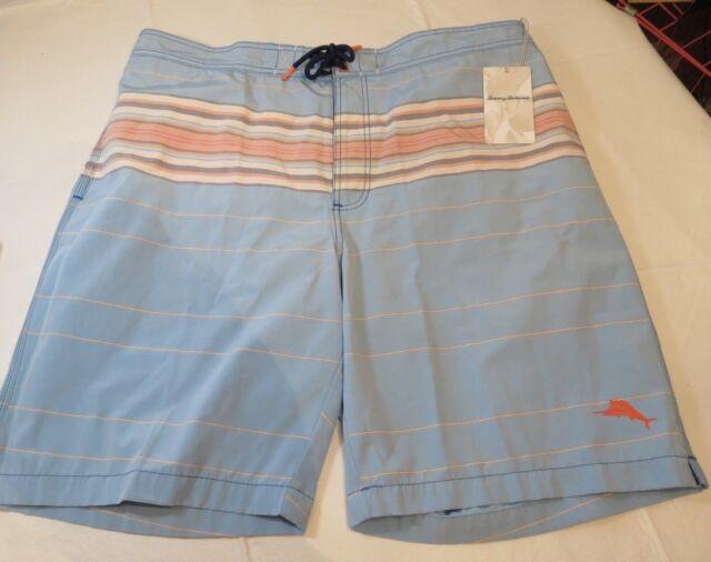 af9125340c Tommy Bahama Mens Swim Shorts Boardshorts Baja Serape Sunset 15633 Blue  Aster XL