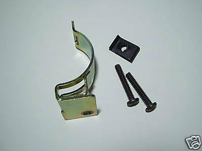LAND ROVER SERIES 3 INDICATOR,HORN, HEADLIGHT SWITCH FIXING BRACKET WITH SCREWS