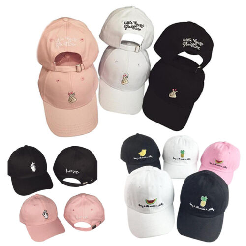 Adjustable Unisex Men/'s Women/'s Snapback Baseball Cap Hip Hop Hat Bboy Fashion