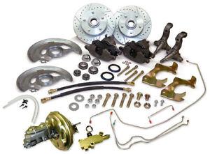 1964-72 GM A,F,X Body Disc Brake Kit, Camaro, Chevelle, Nova, Disc/Disc