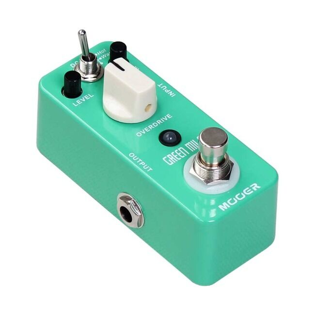 Mooer Effects Grün Mile Overdrive Pedal