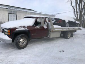1996 GMC C/K 3500 Flat bed tow truck 2900$