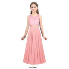 881446470 item 4 Pageant Flower Girl Dress Kids Chiffon Lace Wedding Bridesmaid Gown  Formal Party -Pageant Flower Girl Dress Kids Chiffon Lace Wedding  Bridesmaid Gown ...