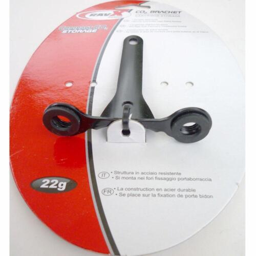 Rav X CO2 cartridge bottle Bike mount bracket for threaded canisters