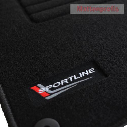 Mattenprofis Velours Edition Fußmatten für Audi A3 8V1 Schrägheck ab Bj.05//2016