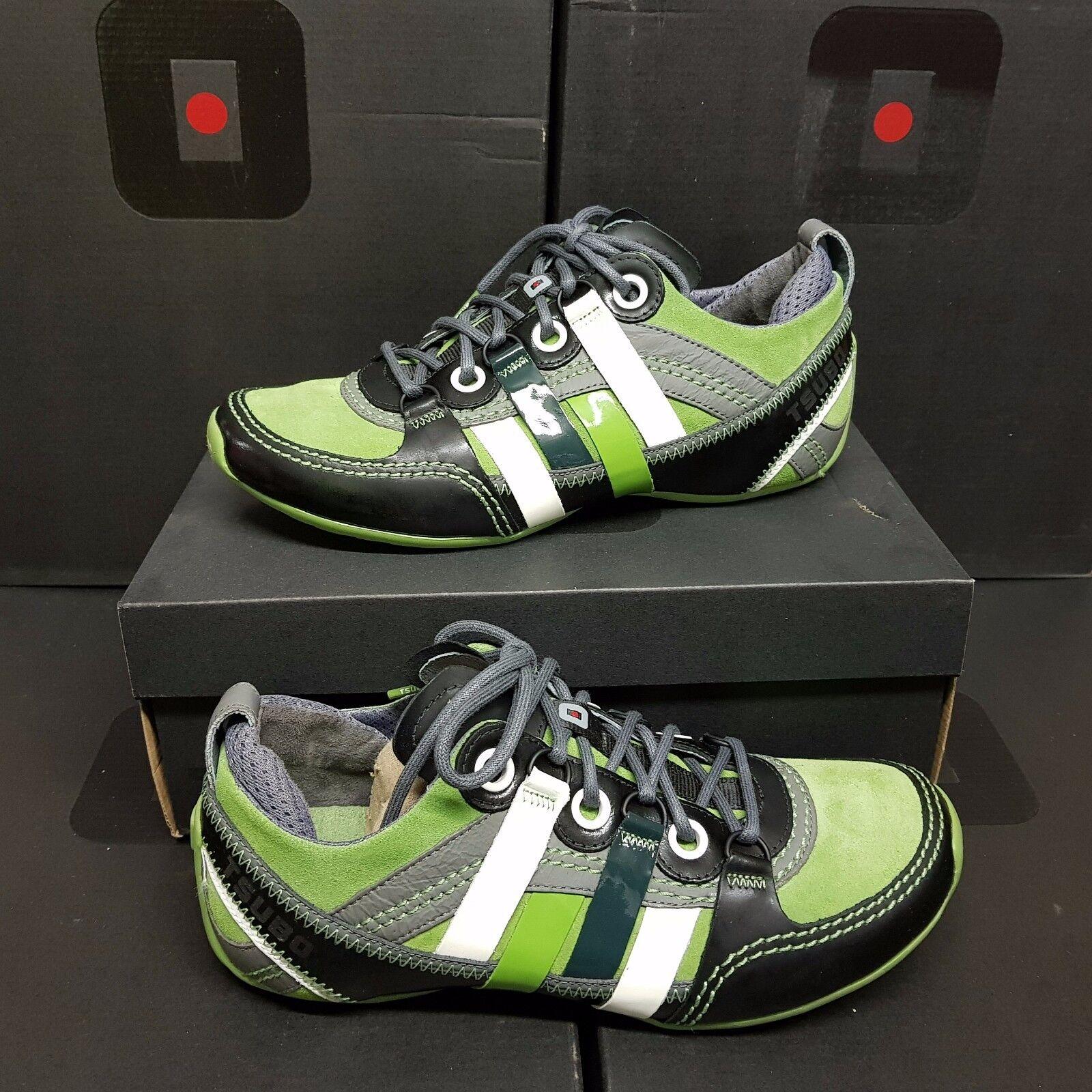 TSUBO  Tycho  Men's zapatillas zapatos Cuir verde US 8.5 (rrp )