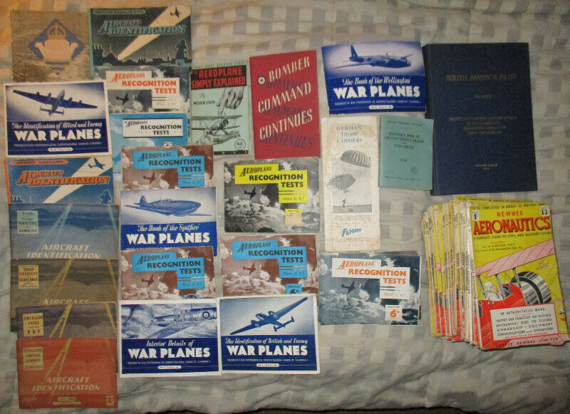 navigation . air craft fighter and similar old books