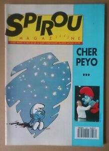 *** Spirou N°2857. Mort De Peyo *** 1993 Prix ModéRé