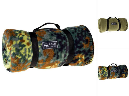 AB Fleece-Decke 200x140cm Picknickdecke Campingdecke Kuscheldecke