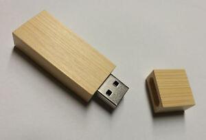 Details zu 16/32/64 GB Holz USB Stick mit Wunsch Gravur personalisiertes  Geschenk usbstick