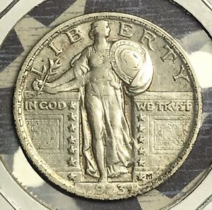 1923-STANDING-LIBERTY-SILVER-QUARTER-COLLECTOR-COIN-FREE-SHIPPING