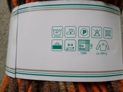 Efecto Garn lana gruesa lana de punto punto Garn pronto color fb.106 100g nuevo
