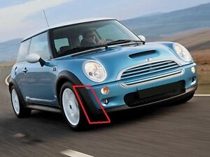 MINI-NEW-COOPER-R50-01-04-07-FRONT-BUMPER-OUTER-PLASTIC-TRIM-RIGHT-O-S