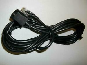 """Kenwood Icom Microphone Extension Cable Replacement for DFK-4 PG-4K OPC-440 ~10"""""""