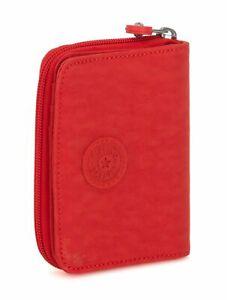 Kipling-Basic-Eyes-wide-open-Money-Power-Medium-wallet-portafoglio-ACTIVE-RED