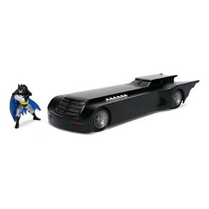 Jada-Toys-Batman-Animated-Series-Batmobile-Metals-Die-Cast-Set-NEW
