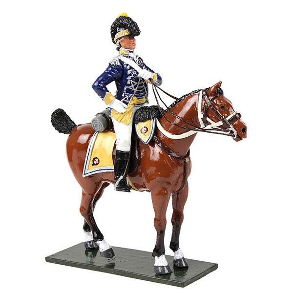 W großbritannien 47060 - britische 10. licht dragoons officer montiert, 1795 - glänzend