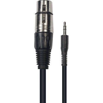 Câble Microphone XLR Mâle // XLR Femelle M01X 1,00 m YELLOW CABLE