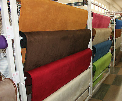 Microfiber Suede - Upholstery Fabric - 8 oz. - Sample/Swatch Listing