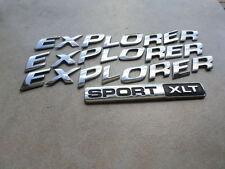 02-04 Ford Explorer Sport Xlt 1L24-7842528-BA Logo Emblem 3L2Z-7842528-AA Decals
