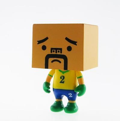 "SOUTH KOREA TO-FU WORLD CUP FOOTBALL 2/"" DESIGNER VINYL FIGURE TOFU SOCCER"